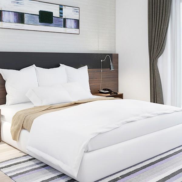 Ga mền vải khách sạn vải T250