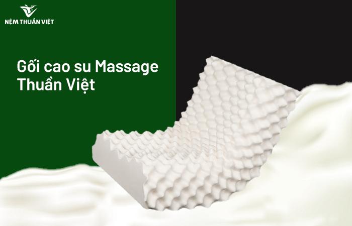 Gối cao su Massage Thuần Việt