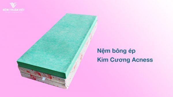 Đệm bông ép Kim Cương gấp 3 Acness giảm giá