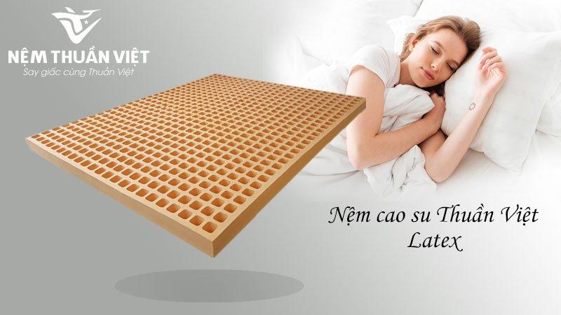 Nệm cao su Thuần Việt Latex