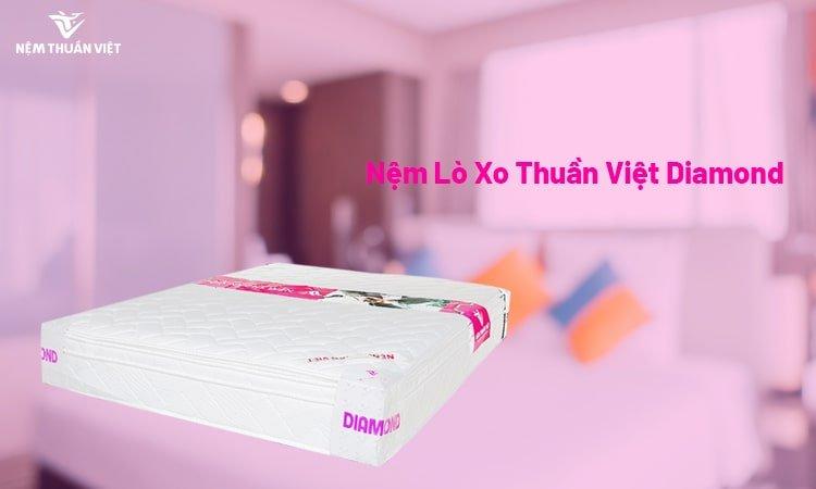 giá đệm lò xo túi cao cấp Thuần Việt Diamond