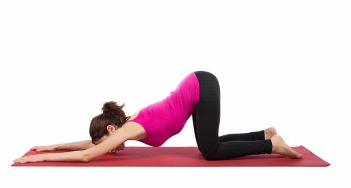 yoga trị mất ngủ