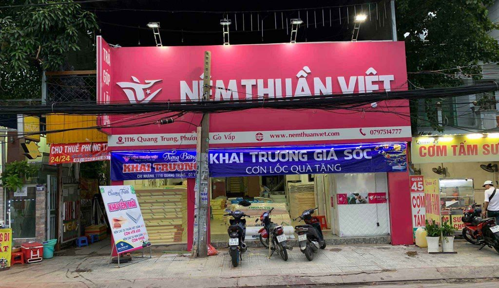 cửa hàng bán đệm giá rẻ tại tphcm