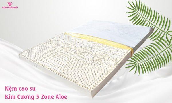 nệm cao su thiên nhiên kim cương five zone