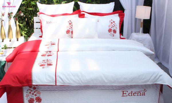 bộ chăn ga gối drap giường ga giường edena