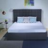 Giường ngủ bọc da 2 hộc kéo B1254