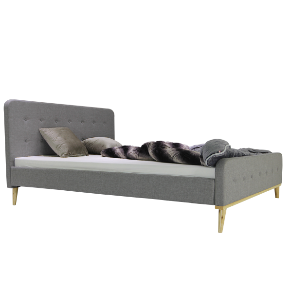 Giường bọc vải Scandinavian B1240