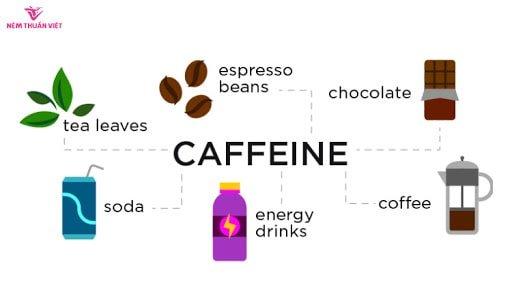hạn chế uống cafein để có giấc ngủ ngon