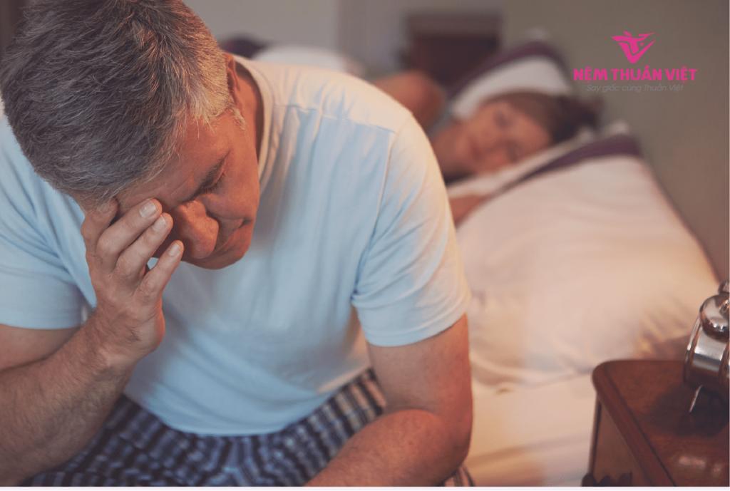 căng thẳng stress mất ngủ