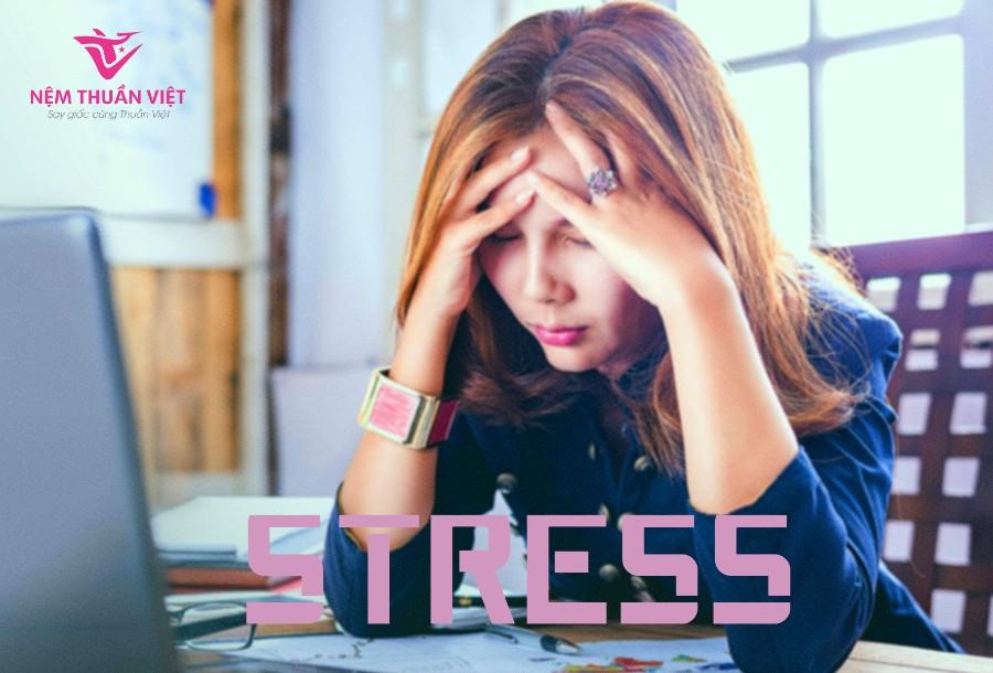 nguyên nhân gây rối loạn giấc ngủ do stress