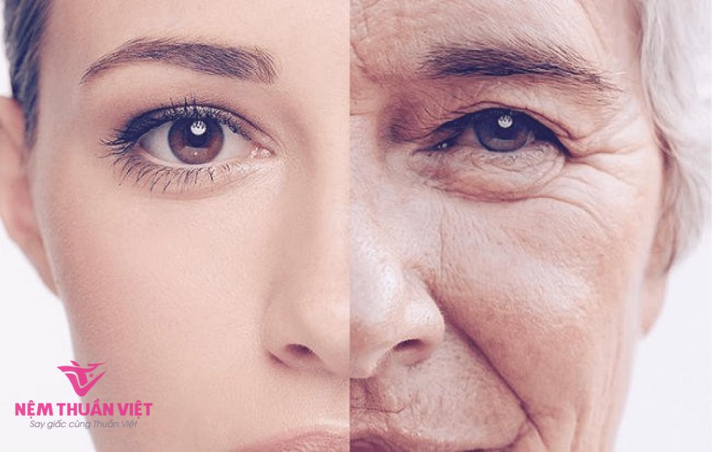 tác hại của thức khuya với phụ nữ lão hóa da