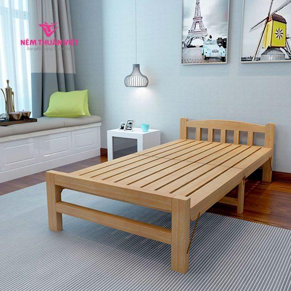 giường gỗ gấp giá rẻ
