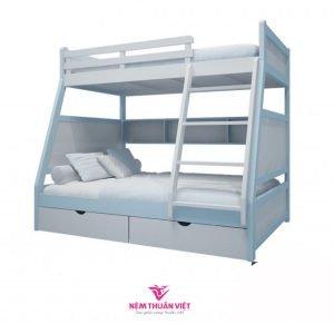 giường ngủ tầng cầu thang viên