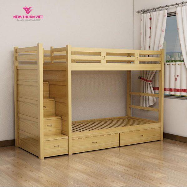 giường tầng gỗ giá rẻ cho bé