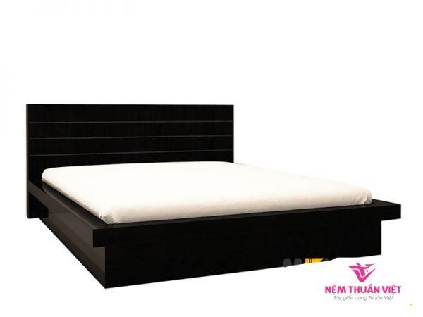 Giường Ngủ Kiểu Nhật Gỗ Xoan Đào
