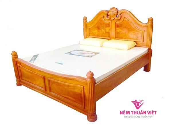 Giường Ngủ Tự Nhiên Gỗ Gõ Đỏ