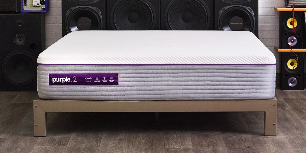 Best mattress for bad back - Purple.