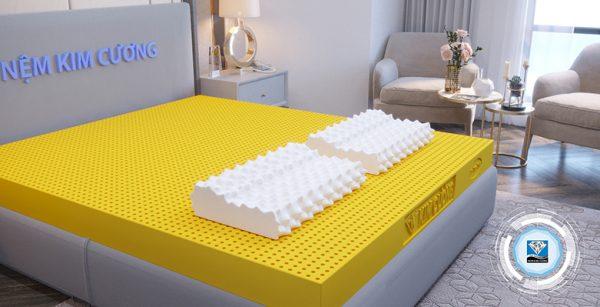 Gối Massage B - 3D Kim Cương